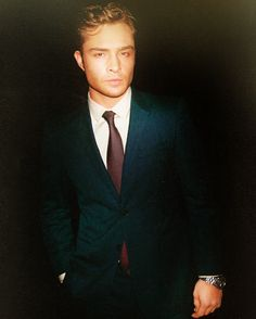 Ed Westwick - I didn't like him at first but he is just too sexy to resist!