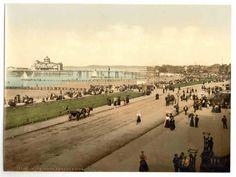 latest addition Morecambe, Parade and pier, England