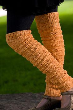 Peggy Sue's Leg Warmers - Crochet Me