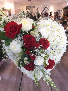 Funeral Flowers, Heart Tribute by Petals Warwick RI. Funeral Flowers, Heart Tribute by Petals Warwic Casket Flowers, Grave Flowers, Cemetery Flowers, Funeral Flowers, Wedding Flowers, Bouquet Flowers, Bouquets, Funeral Floral Arrangements, Flower Arrangements