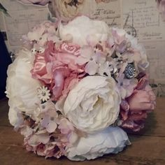 Beautiful silk flower bouquet new range