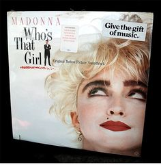 Vintage Record Album Vinyl Madonna Who's That Girl by ZenfulGoods, $14.00