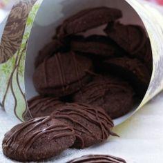 Sjokoladekjeks ed marsipan