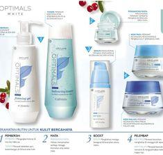 Oriflame optimals white radiance skin care set
