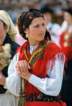 Woman wearing Folk Costume, Oporto, Portugal - Photo by Tim Graham We Are The World, People Around The World, Ansel Adams, Folk Costume, Costumes, Portuguese Culture, Ethnic Dress, World Cultures, Traditional Dresses