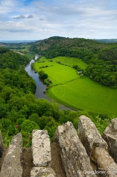 The Wye Valley, Herefordshire, England