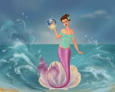 Aubrey Jarvinshire In Mermaid Form