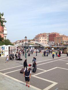 L'arrivo a #Venezia