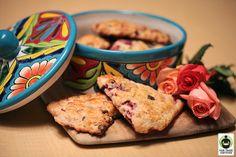 Strawberry Chocolate Chip Scones #FairTrade #recipe