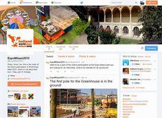 Expo 2015 Milano Blog: Tweet Tweet Twitter... holland worldexpo milano201...