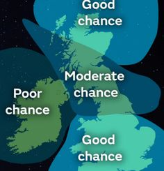 The met office predicts tonight could be a good opportunity to catch the display