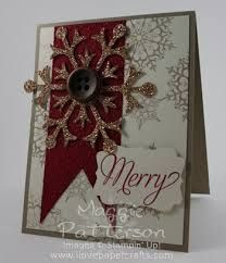 stampin up christmas card snowflake - Recherche Google