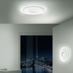Leucos Planet 48 Modern Wall or Ceiling Lamp | Stardust