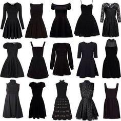 Black dress montage 1