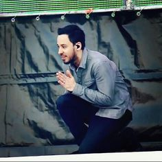 Mike Shinoda in Moscow Linkin Park