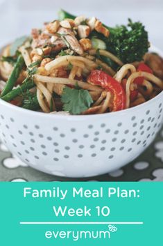 Here are seven family friendly weekly meals which will hopefully make your dinners easier. From yummy cottage pie with cheesy champ topping to braised chilli beef with onions, these delicious tried and tested recipes will help you plan your week. Family Meal Planning, Family Meals, Champ Recipe, Pork Satay, Keep Recipe, Weekly Meals, Cottage Pie, Breaded Chicken, Steak And Eggs