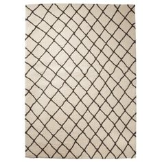 Threshold™ Criss Cross Fleece Rug - Gray
