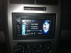 Love this multimedia radio from Pioneer! Bluetooth, Navigation, Pandora, Facebook, DVD player and so much more!