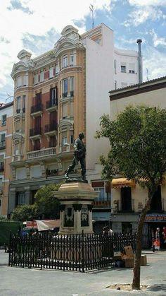 Plaza de Cascorro. Madrid.