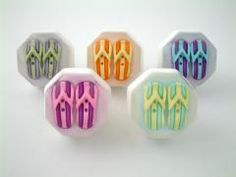 Flip Flops Cabinet Knobs. Cast in fine pewter. Available in ...