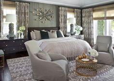 Lovely bedroom idea....minimal space, maximum functionality