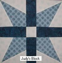 Job's Tears Bible quilt block