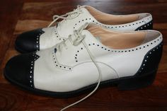 TAGS CLASSICS LEATHER WOMEN'S GOLFING SHOES SIZE 8 | eBay $65