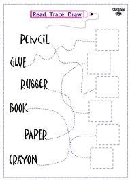 classroom objects worksheets - Buscar con Google