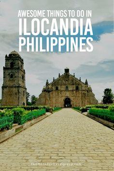 Along with Pangasinan and La Union, Ilocos Norte and Ilocos Sur make the Region 1 or the Ilocos Region (Ilocandia) of the Philippines. Beautiful Places To Visit, Cool Places To Visit, Places To Travel, Travel Destinations, Places To Go, Tourist Places, Ilocos Norte Philippines, Vigan Philippines, Taiwan Travel