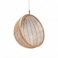 HKliving Hanging chair Rattan ball natural