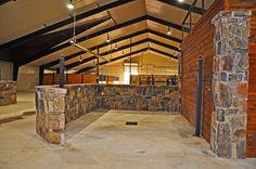 Horse barn wash bay