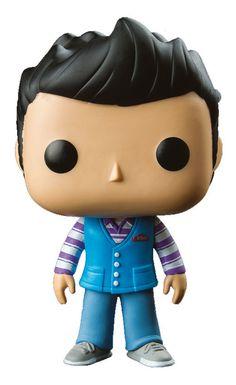 Supernatural POP! Television Vinyl Figur Castiel Steve 9 cm