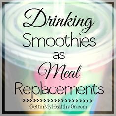 Interested in weight loss through healthy eating? Smoothies can be a great meal replacement when you do it right. Check out my tips for healthy smoothie making.