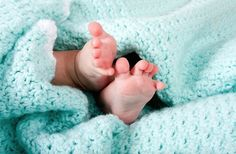 Baby feet in blanket. Two cute tiny baby feet wrapped in a blue-green aqua knitt , Cute Little Baby, Little Babies, Baby Love, Cute Babies, Baby Kids, Baby Baby, Hispanic Baby Names, Baby Poems, Losing A Baby