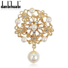 2016 fashion vintage rhinestone brooch gold plate brooch pins for wedding dress flower pins and brooches for women party-in Brooches from Jewelry & Accessories on Aliexpress.com | Alibaba Group