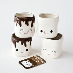 One Hundred Eighty Degrees Marshmallow Mugs