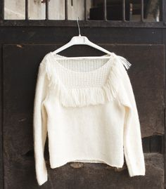 Tricoter, c'est trendy: comment réaliser le pull Yvette? - Femmes d'Aujourd'hui