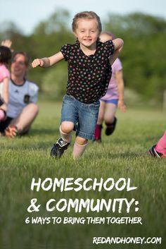 #Homeschool and Community: How to Bring Them Together - redandhoney.com