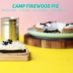 Camp Firewood Pie! (Bourbon Brownie Cookie & Meringue)