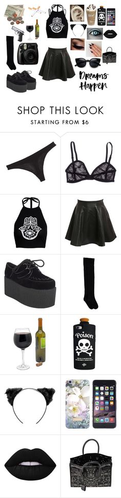 """Untitled #290"" by mamakarebear ❤ liked on Polyvore featuring Chantal Thomass, Pilot, Valfré, Ted Baker, Lime Crime, Yves Saint Laurent, women's clothing, women, female and woman"