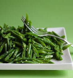 Sauteed String Beans. Make sure to use light or low sodium chicken broth and I would use garlic powder instead of garlic salt!
