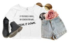 """""""1257"""" by anastaziah2014 ❤ liked on Polyvore featuring American Apparel"""