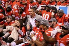 Coach Urban Meyer & The Ohio State Football ... Buckeyes