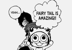 do you remember the chapter when Frosh tried to find his way home and ended up at fairy tail? i loved it! it was hilarious!!! i had a laughing fir and my parents just stared at me.....you'd think they'd be used to t by now.