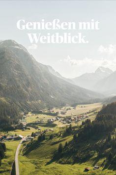 Der Bergsommer am Arlberg war schon immer etwas Besonderes. Jetzt lohnt es sich noch einmal mehr das Rote Wand Gourmet Hotel zu besuchen. Spa, Mountains, Nature, Travel, Outdoor, Gourmet, Red Walls, Outdoors, Naturaleza