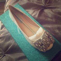 Betsy Johnson wedding flats Super cute jewel encrusted flats BNIB great for wedding Betsey Johnson Shoes Flats & Loafers