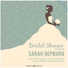 25 Amazing Wedding Shower Template PSD