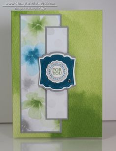 Label Love Watercolor Wonder Note Cards - Stampin' Up! - Stamp With Amy K