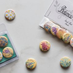 Botanical Buttons and Magnets at Mountain Rose Herbs.