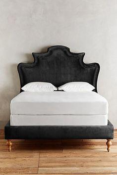 Slub Velvet Ainsworth Bed #homefurniturecouches